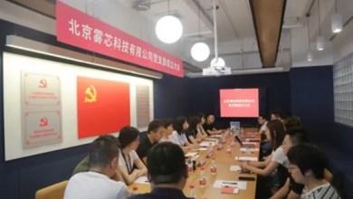 RELX vape brand headquarters established the Communist Party branch