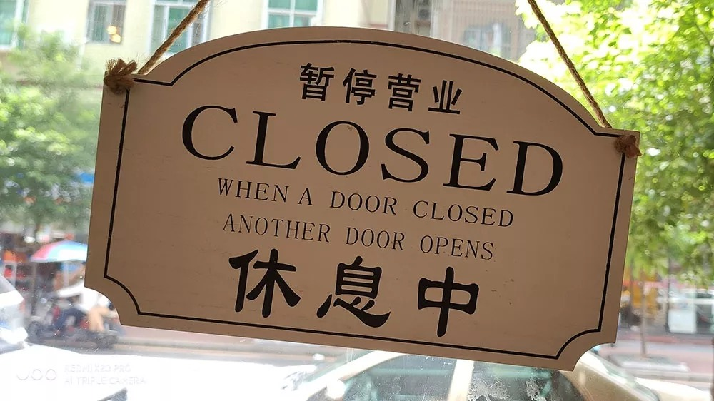 When one door is closed, another door opens
