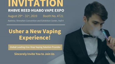 ALD Group Limited to Cooperate with 5 Brands in the Vape Event