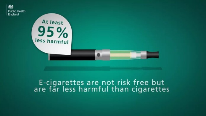 Electronic cigarettes are not a competition, but vaper won in Britain