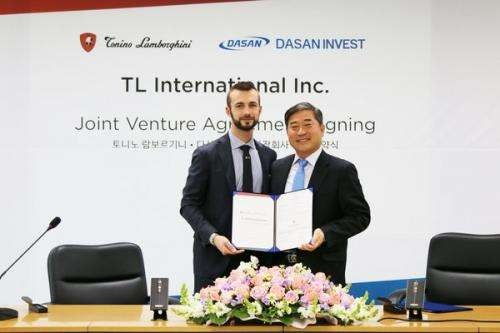 Tonino Lamborghini SPA and Yedao Holding Limited plan to start a joint venture company