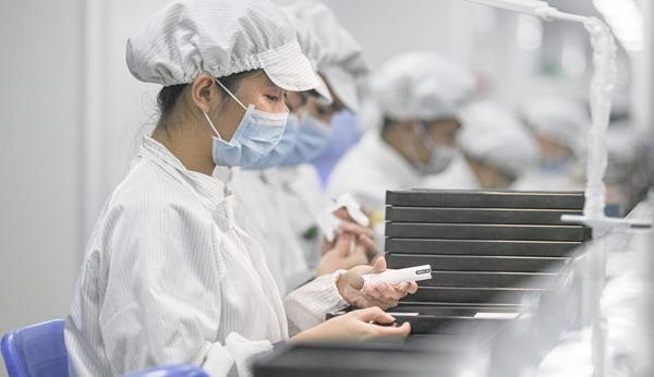 Vape device production line