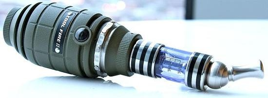 There are also some electronic cigarettes designed in special shapes, such as hand grenades
