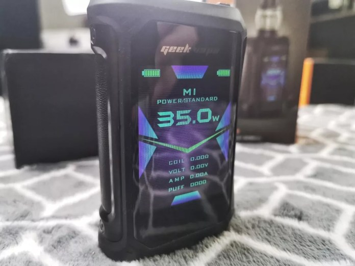 GEEKVAPE AEGIS X 200W review
