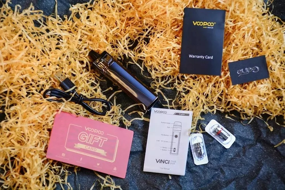VOOPOO VINCI with aesthetic design - Beautiful pictures worth seeing
