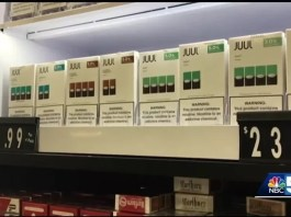 The U.S. House of Representatives approved the electronic cigarette tax