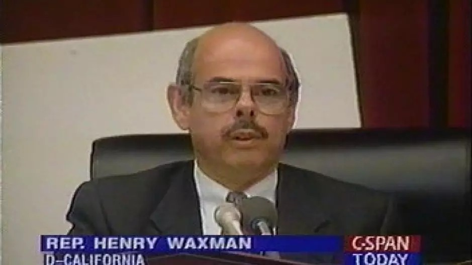 Henry Waxman, a member of the US