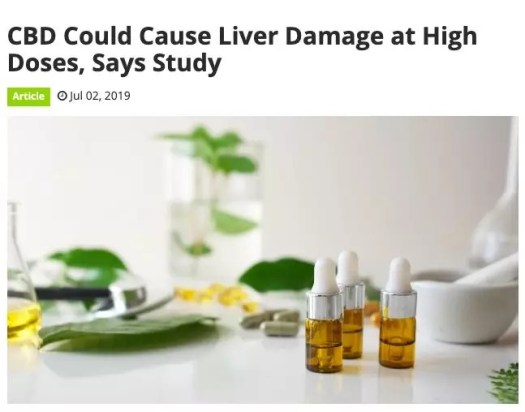 FDA acknowledges that it has not really understood the potential health risks and benefits of CBD. However, damage to the liver is one of the side effects found in limited research.