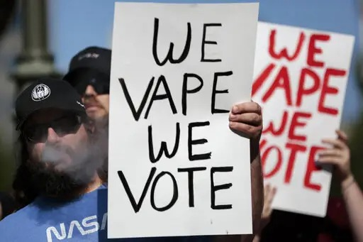 we vape we vote
