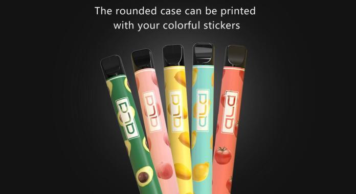 rounded case for oem custom logos disposable vape wholesale