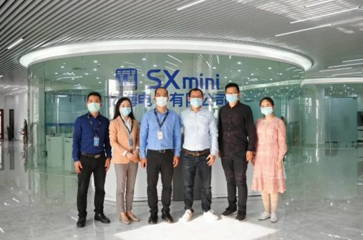 Group photo of the Secretariat and Yihai Chairman Chen Zhenjiang