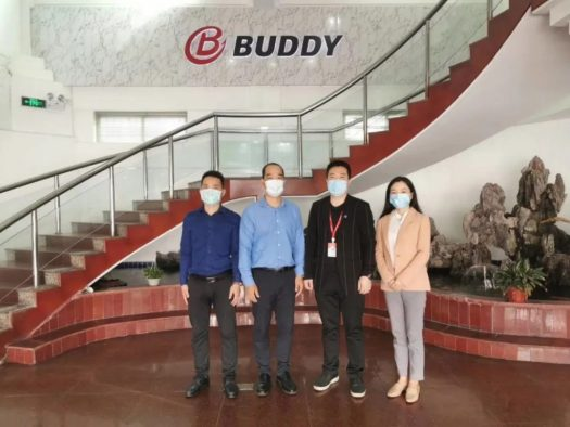 Group photo of the Secretariat and Buddy Chairman Liu Xiang