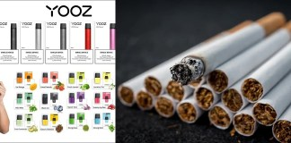 Yooz or common cigarette, which is more harmful?