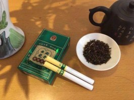 Tea cigarette becomes popular in China