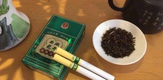 Tea cigarette becomes popular in China