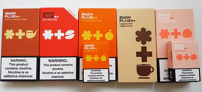 snowplus-pro- pods flavors taste