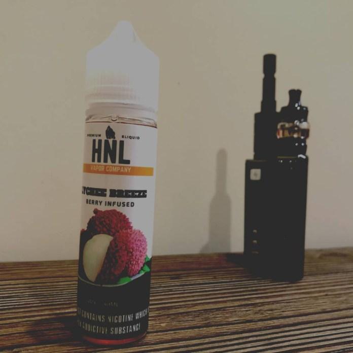 HNL LYCHEE BREEZE e-liquid review