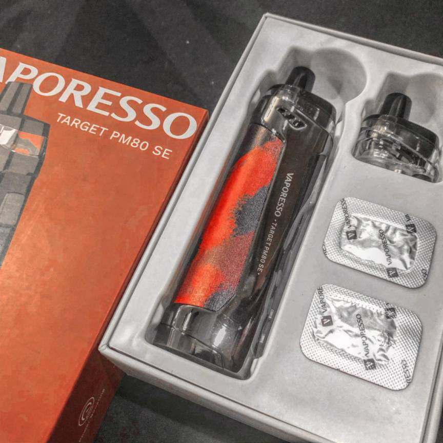 VAPORESSO TARGET PM80 SE review
