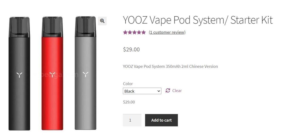 yooz vape