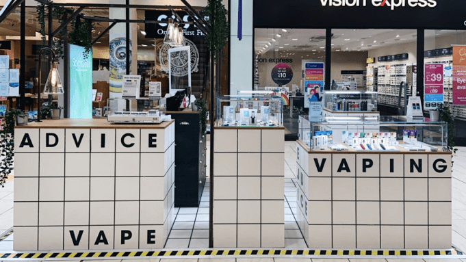 Myst Labs entered 36 large shopping malls in the UK