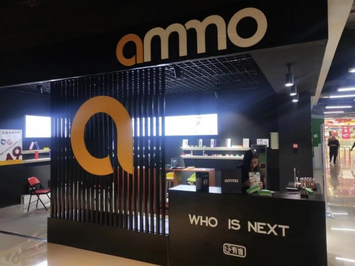Ammo vape opened 26 stores in a week in China