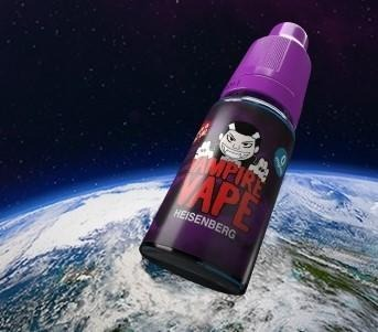 Vampire Vape launches e-liquid into space
