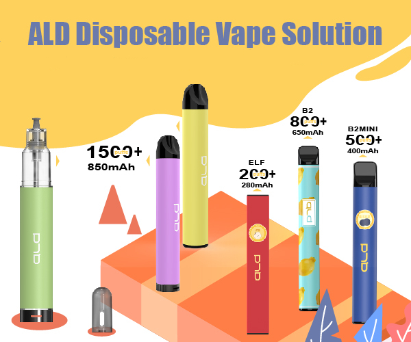 ald disposable vape solution manufacturer factory