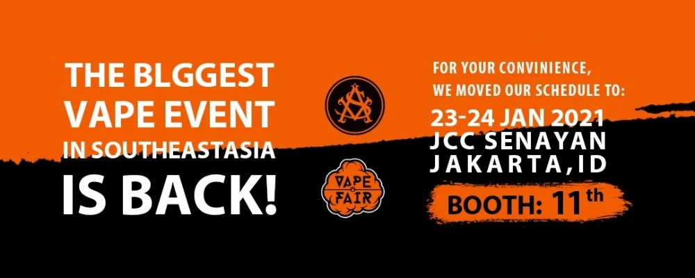 ASVAPE will bring a variety of exhibits to attend 2021 Indonesia Vape Fair