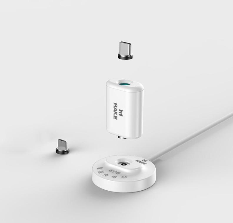 Make Power Bank and e-cigarette smart charging station