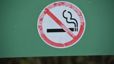 no smoking sign Although the differences were not statistically significant, former cigarette smokers rated higher interest in quitting compared with other groups.
