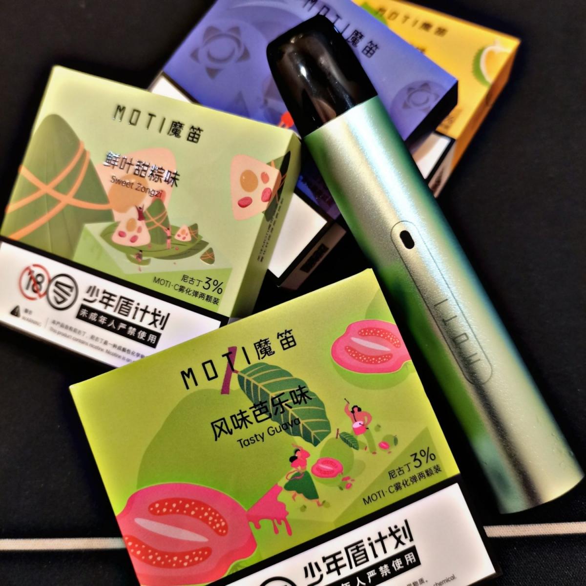 MOTI C pod vape new flavor review