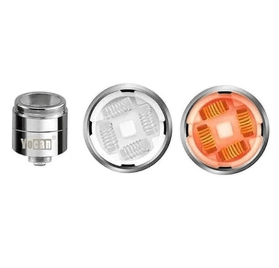 the Yocan Evolve plus XL 2020 version QUAD coil