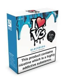 30ml Blackberg By I love VG (3mg) @ Vaping101 – £7.20