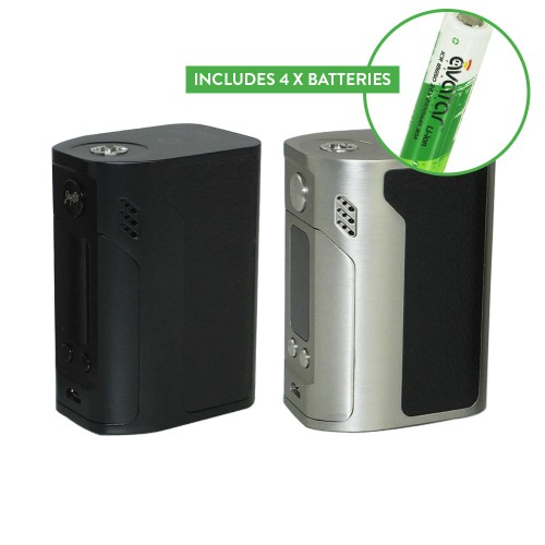 Wismec Reuleaux RX300 and 4 x Batteries – £45.00 delivered
