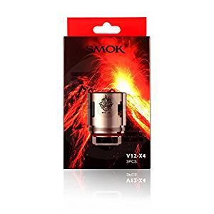SMOK TFV12 Coils 0.15ohm V12-X4 Quad Coils – 3 pack – £8.70 delivered