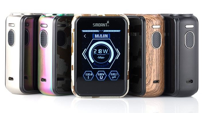Smoant Charon TS – 218W Touch Screen Box Mod – £39.89