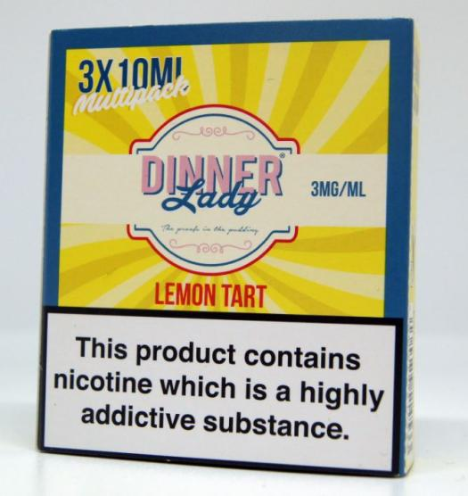 Dinner Lady Lemon Tart – 3mg or 6mg – (30ml) – £8.00