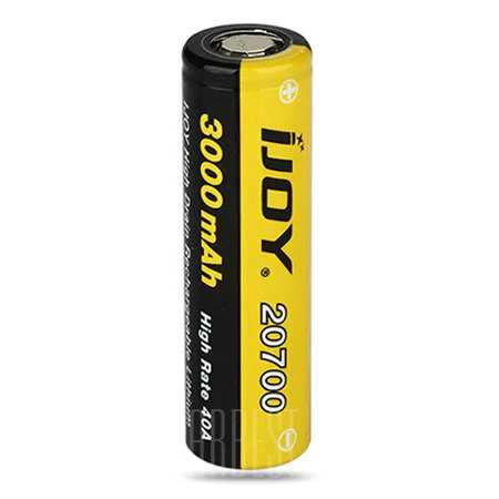 IJOY 20700 3000mAh High Drain Rechargeable Battery – £6.85
