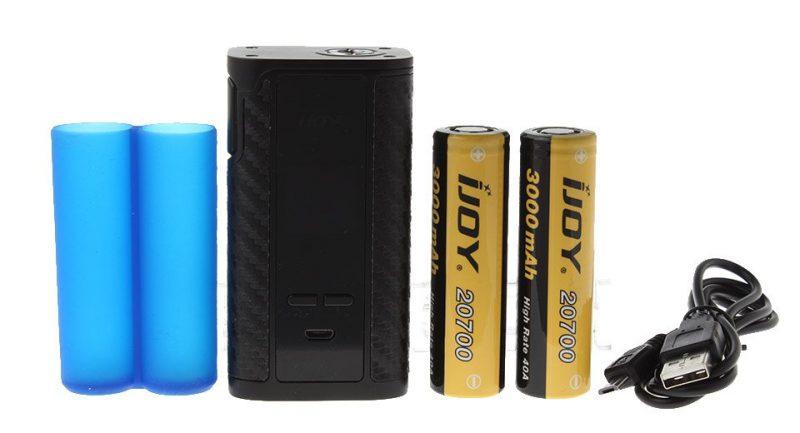 IJOY Captain PD270 234W Box Mod PLUS 2x 20700 batteries – £32.57