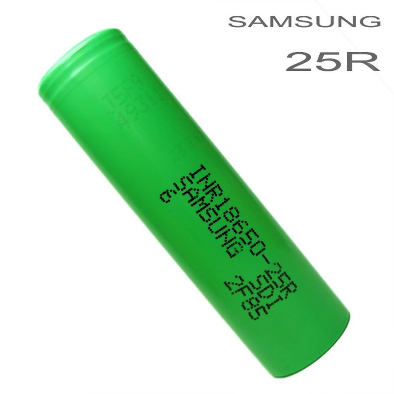 Samsung 25R 20A 2500MAH 18650 Battery – £2.99 at JAC Vapour
