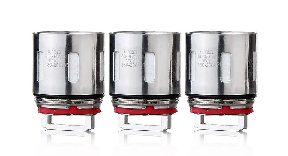 3 pack of V12-T12 Coils for SMOK TFV12 (0.12ohm / 60-350W) – £4.86