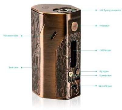 Cheap Gene Mod - Wismec Reuleaux DNA250 Mod specifications UK