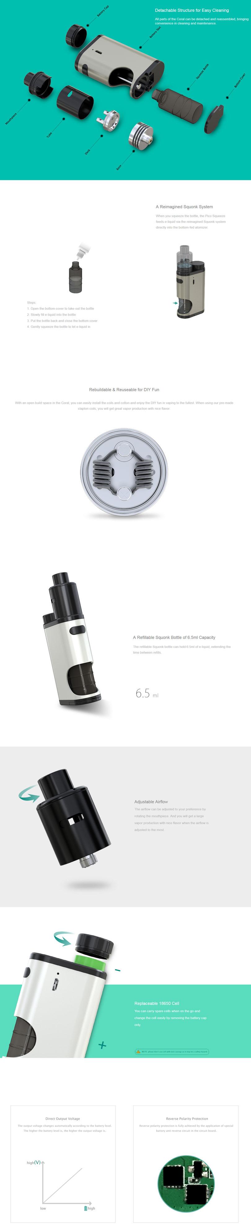 Eleaf-Pico-Squeeze-Features