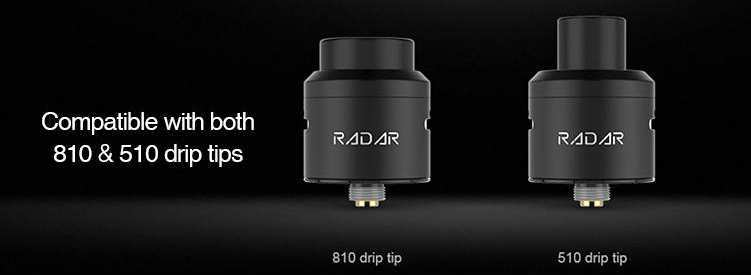GBOX Compatible with both 810 & 510 drip tips