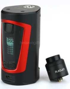 Best UK price for GBOX Squonker MOD kit with Radar RDA