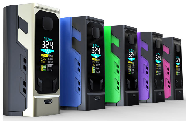 IJOY Captain X3 324W (PLUS 3x 20700) – £40.50