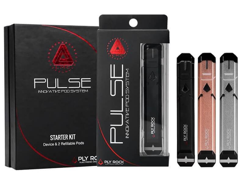 Limitless PULSE Vape Kit – Black – £20.39 at SpaceInVapers