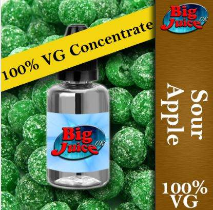 100% VG Concentrates – 50ml – £2.99 at Big Juice UK