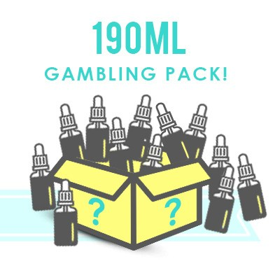 190ml Premium E-Liquid Mystery Box – £23.75 from No 1 EJuice