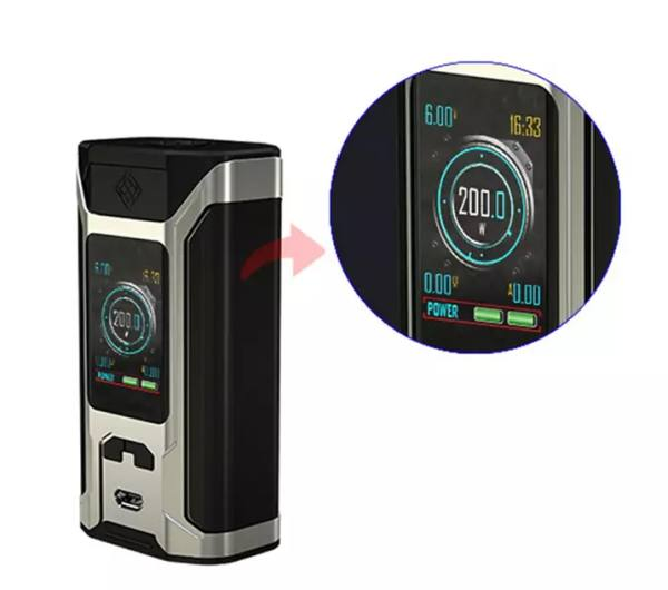 Wismec Sinuous RAVAGE230 200W Box Mod – £26.99